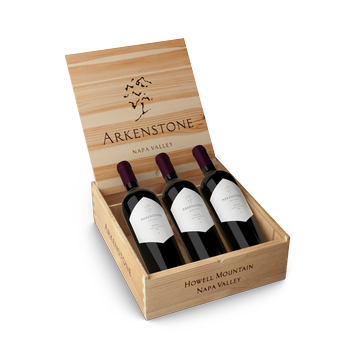 2016 Arkenstone Estate Red 3 Bottle Wood Box
