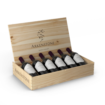 2015 Arkenstone Estate Red 6 Pack 10th Anniversary Wooden Box